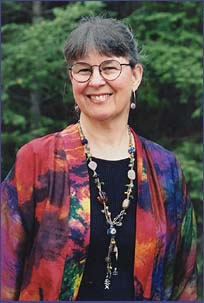 Robin Atkins, bead artist, beadwork teacher, and author of beading books